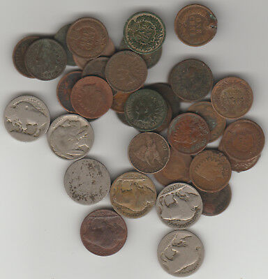Lot of 36 **CULL** Coins