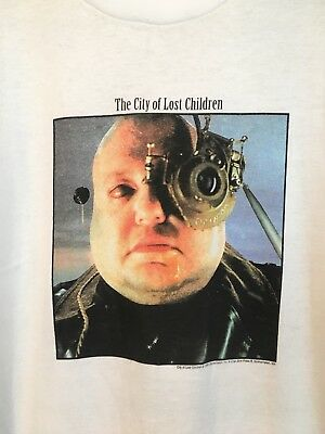 Vintage City Of Lost Children Promo T Shirt 1995 XL