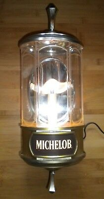 "Michelob Beer Lighted Sconce 19"" x 9"" x 6 1/2"""