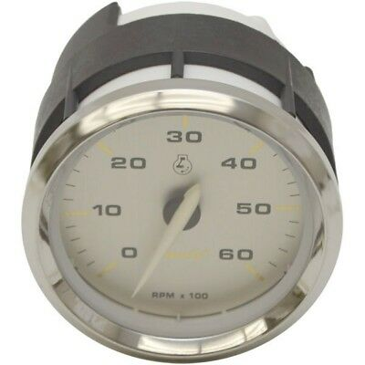 FARIA BOAT TACHOMETER Gauge THC607X | 3 1/4 Inch Silver ... on