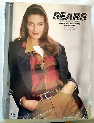 Sears Roebuck. Fall & Winter Catalog. 1992-1993 Fall & Winter Catalog. 1641 p.