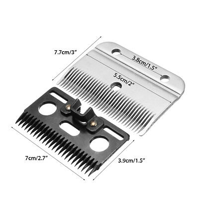 For Wolseley Liscop Liveryman Clippers Clipping Medium Horse Clipper Blades