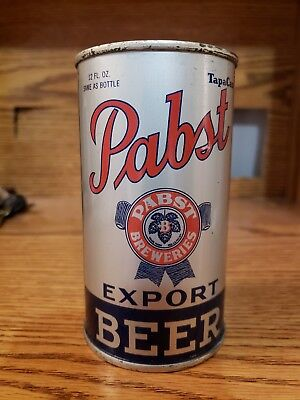 Dazzling Pabst IRTP/OI flat top beer can.....near mint!