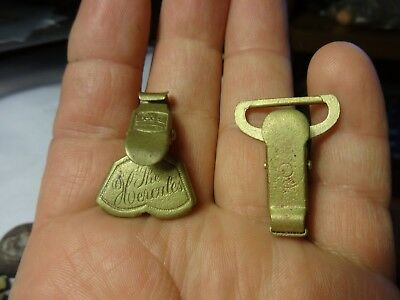 Couple of 19th century suspender clips!!!