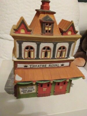 Dept 56 Dickens Village Series - 1989 THEATRE ROYAL #55840 RETIRED