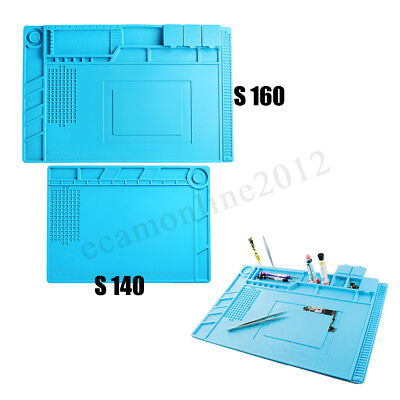Heat Insulation Silicone Mat Pad for Phone PC Repair Magnetic Heat Solder Mat