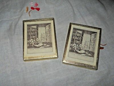 Two boxes of bookplates - Antioch Bookplate Co.