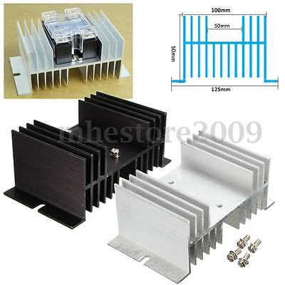 Auminum Alloy Heat Sink For Solid State Relay SSR Heat Dissipation Up To  new