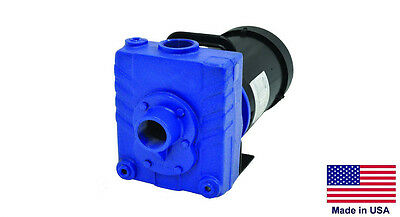 """CENTRIFUGAL PUMP Stainless Steel - Explosion Proof - 115/230V - 1 PH  1.5"""" Ports"""