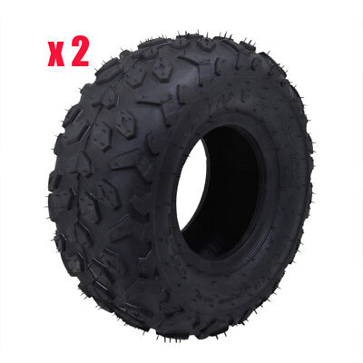 "(2) 145/70- 6"" Inch Wheel Tyre 50/70/90/110/125cc Quad ATV Gokart Mower No Tube"
