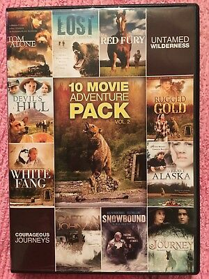 10-MOVIE FAMILY ADVENTURE PACK Vol 2 (VALUE MOVIE COLLECTION) (DVD)
