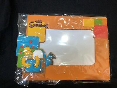 NEW The Simpson's Photo Frame 6x4 Homer Picture Bart