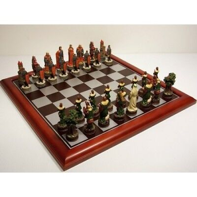 NEW IN BOX Veronese Robin Hood Cast Resin Chess Pieces - Board NOT Included