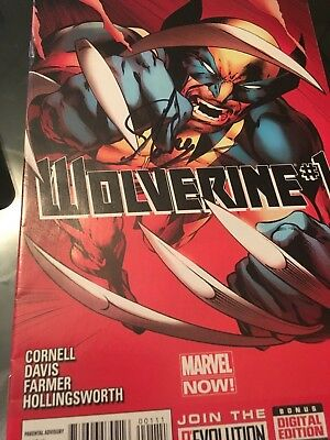 wolverine #1 (2013) signed by Stan Lee