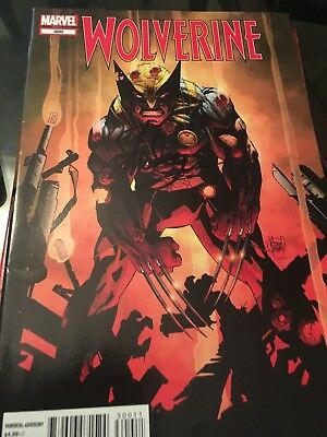 wolverine #300 signed on cover by Stan Lee