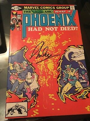 What if the Phoenix had not died #27 signed on cover by Stan Lee