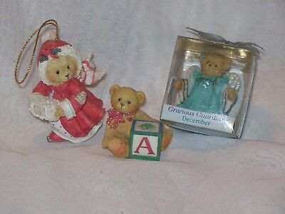 Small Lot of Cherished Teddies by Enesco