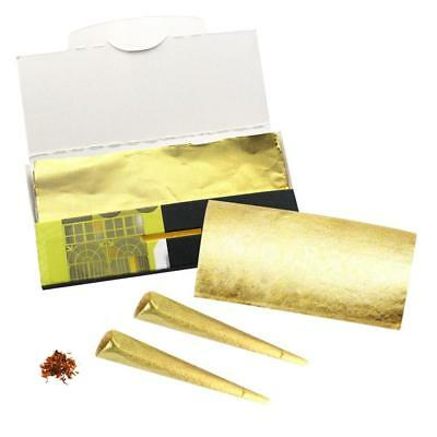 Cones Mega Pack 10 sheets - 24K Gold King Cone Pre Rolled Papers
