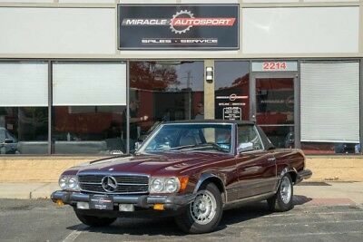 1985 Mercedes-Benz SL-Class  50k low mile 380 sl free shipping collector classic vintage convertible cheap