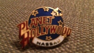 Planet Hollywood Nassau Pin Red White Blue