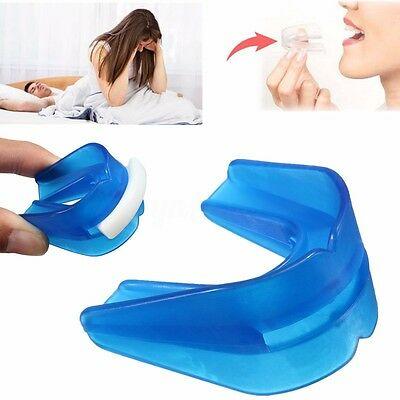 Anti Snore Mouth Guard Night Teeth Piece Snoring Stopper Sleep Aid Apnoea