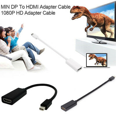 DP Display Port Male To HDMI Female Cable Converter Adapter 1080P HD