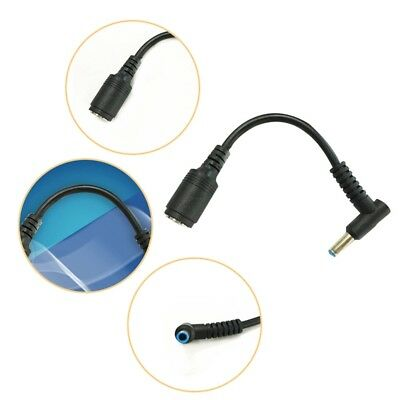 DC Power Charge Converter Adapter Cable 7.4*5.0 to 4.5*3.0 For HP Dell Blue New