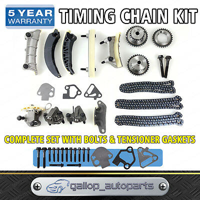 TIMING CHAIN KIT & GEARS GASKETS for Holden Colorado RC 2008-2012  LCA 3.6L V6