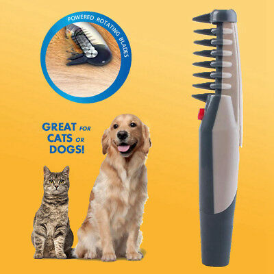 Electric Dog Cat Grooming Comb Groomer Pet Hair Scissor Trimmer