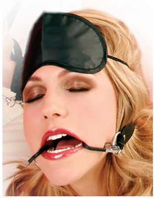 BDSM Knebel doppelte Angelhakenhalterung Double Fish Hook Restraint Fetish