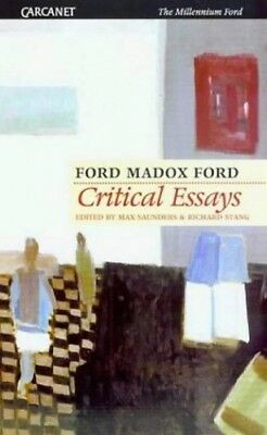 Critical Essays (The millennium Ford) by Ford, Ford Madox Paperback Book The