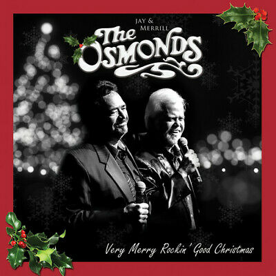 The Osmonds - Very Merry Rockin' Christmas [New CD]