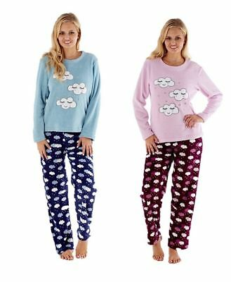 Ladies Girls Cloud Pyjamas Set Sleepwear Loungewear Gift Pajamas Pjs
