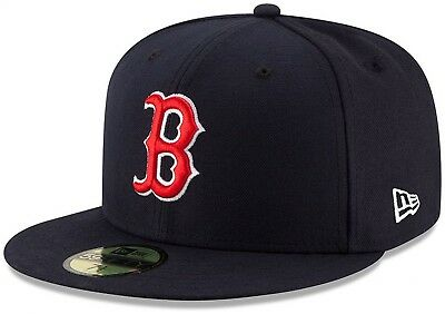 New Era - MLB Boston Red Sox Authentic On-Field Game 59Fifty Fitted Cap - Blau