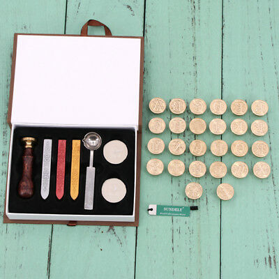 Initial Alphabet Sealing Wax Seal Stamp Kit Sealing Wax Letters Invitation UK