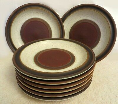 Denby Potters Wheel Tea Plates 17 cms - 8 available