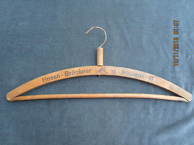 Vintage Wooden Hanger Frankfort Germany