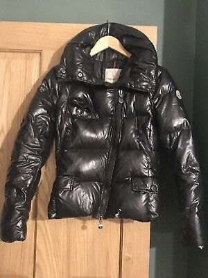 MONCLER LADIES WOMENS Grey Jacket Coat   Jacket ~ Size 1   UK 6~8 ... c3753335e0
