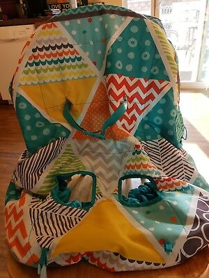 Unisex Infantino 2in1 Shopping Cart Cover / High Chair Cover