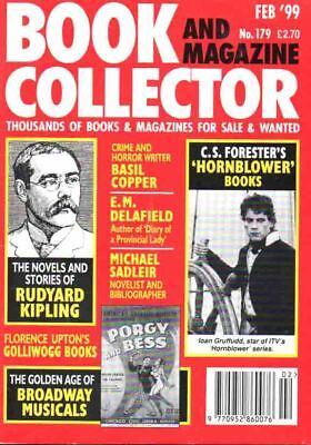 Book Collector Magazine 179 Feb 1999 - Rudyard Kipling Hornblower E M Delafield