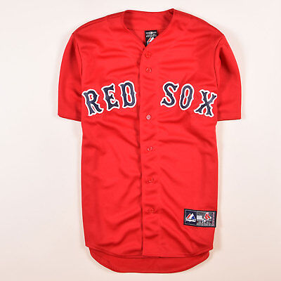 Majestic Herren Trikot Jersey Gr.S MLB Boston Red Sox Baseball Rot, 58178