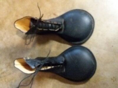 Creative Costumes Custom Clown Shoes/Lollipop/Black Leather/Men's 12D