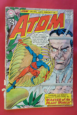 The Atom #1 ! DC 1962 ! COUPON OUT !  KANE & ANDERSON ! hayfamzone