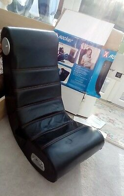 X ROCKER GAMING Chair with box and instructions as pictures