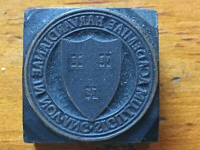Harvard University Letterpress Seal