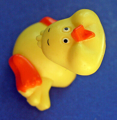 BUY1&GET1@50%~Russ PIN Easter 🐥 DUCK SPRING COIL Neck Vtg1980s Holiday BROOCH