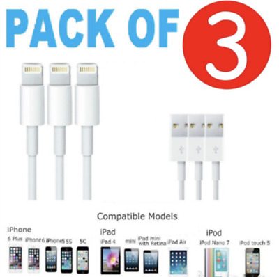 For iPhone Lightning Cable Heavy Duty iPhone 6 Plus 7 8 X Charger Charging Cable
