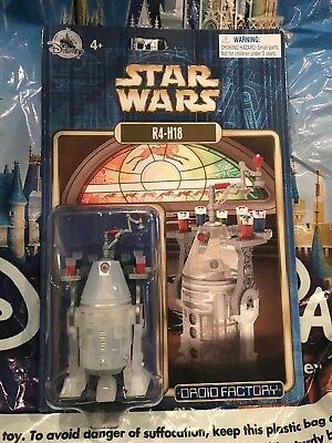 Disney Store Star Wars Droid Factory R4-H18 Action Figure New