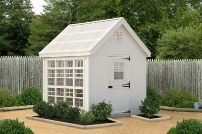 Little Cottage Company Colonial Gable 10 Ft. W x 12 Ft. D Greenhouse