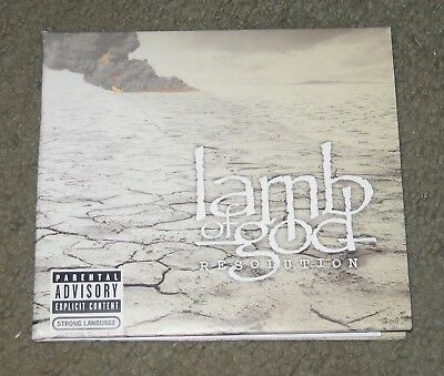 Lamb Of God - Resolution [PA] [Digipak] (CD, 2012, Epic)